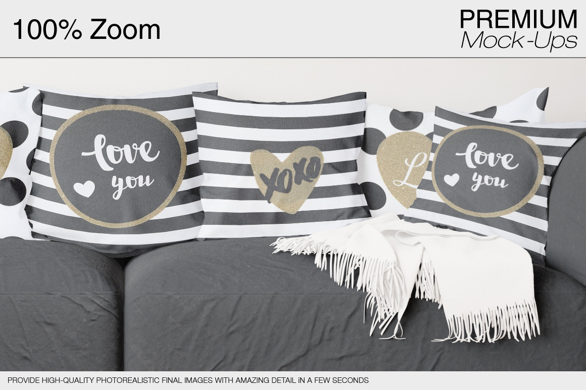 Pillow Mockup Set example image 19