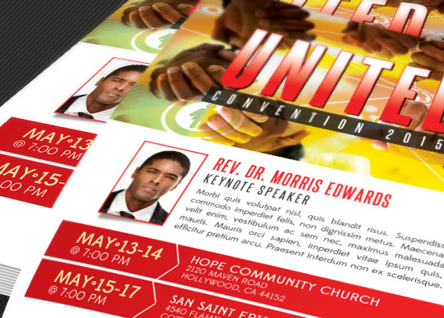 Church Convention Flyer Template example image 3