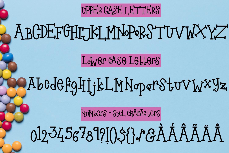 Smartie Pants Font - A bouncy font duo example image 2