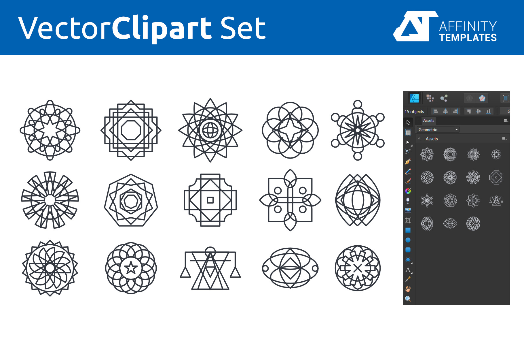 Affinity Designer Clip-atrs Bundle example image 11