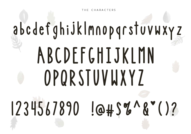 Bonfire - A Bold Handwritten Font example image 8