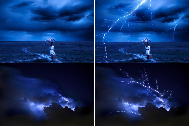 50 Lightning Photo Overlays example image 2
