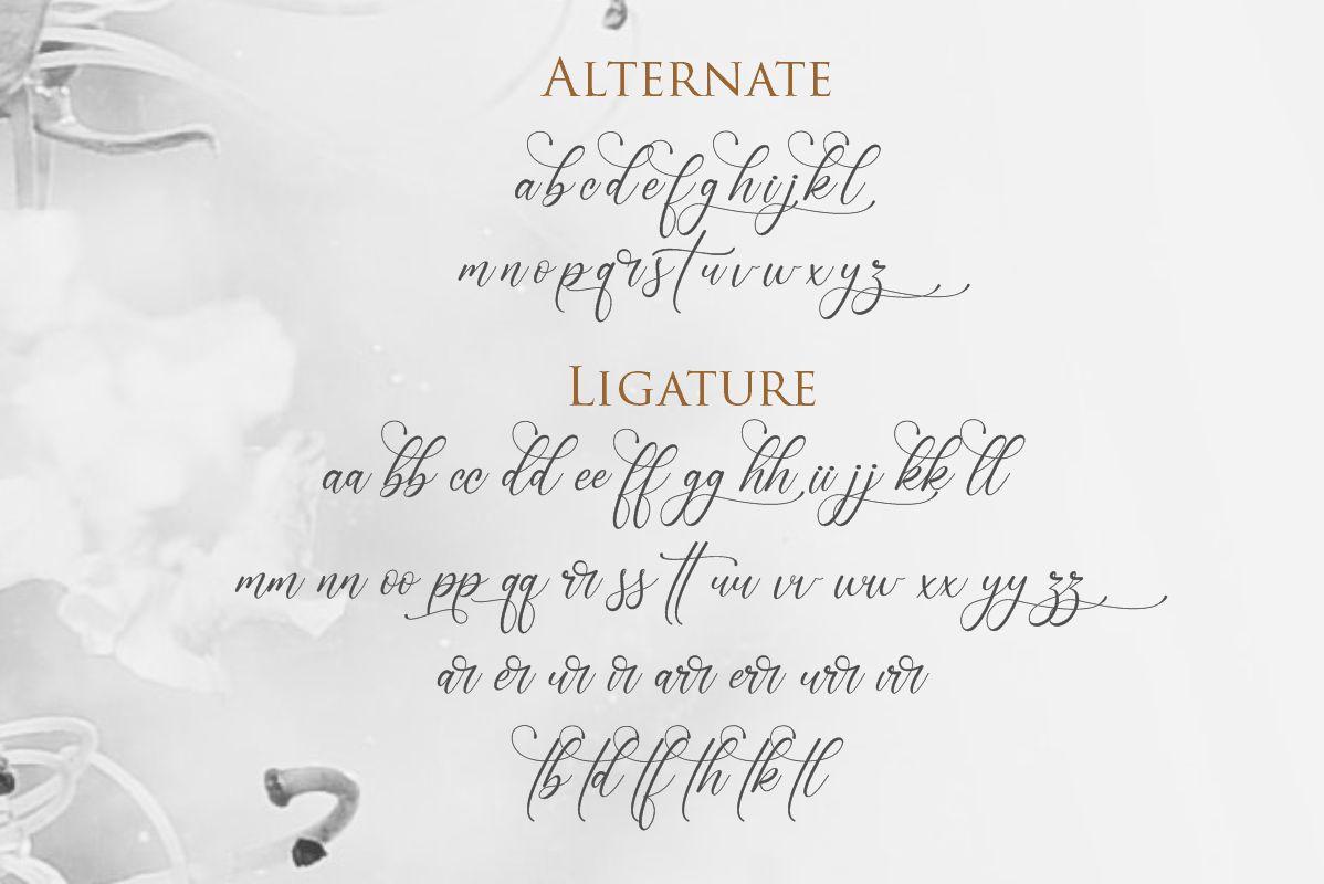Lenttera | Beauty Style Calligraphy example image 3