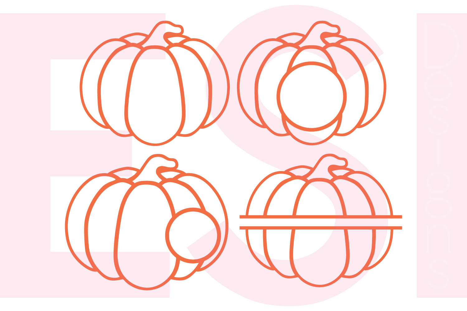 Halloween and Fall Designs Bundle -SVG DXF EPS & PNG example image 14