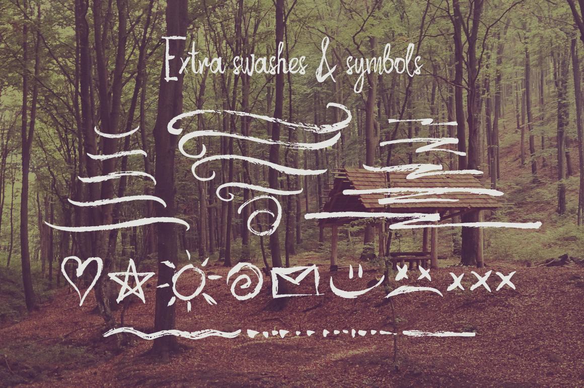 Autumn Feel font example image 4