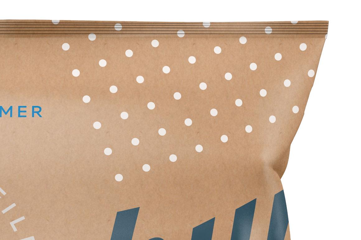 Six Snack Bags Mockup Bundle example image 5