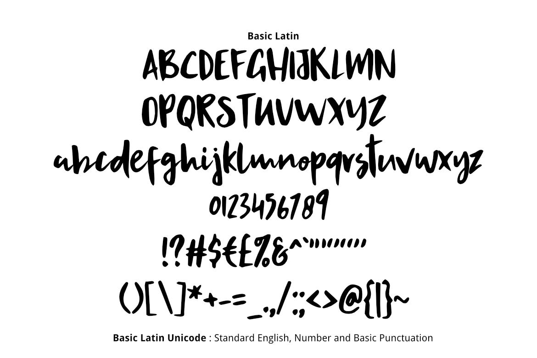 Hokuto Asian Font example image 2