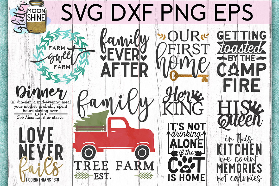 Huge Sign Making Bundle #2 SVG DXF PNG EPS Cutting Files example image 5