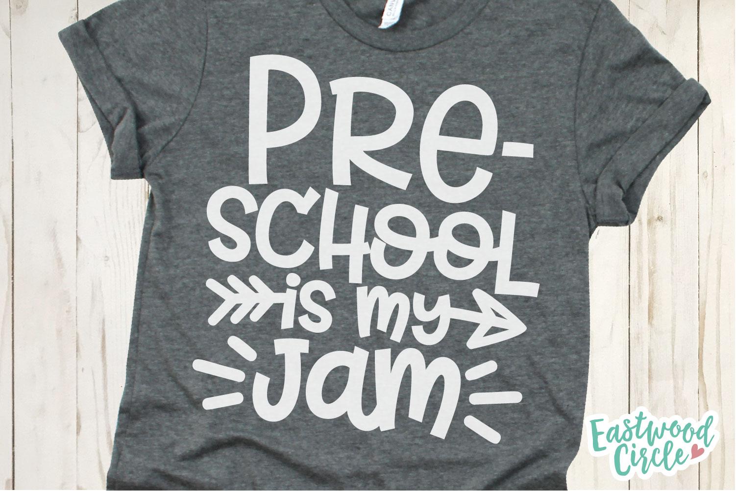 School Is My Jam SVG Bundle - Back to School Cut Files example image 3