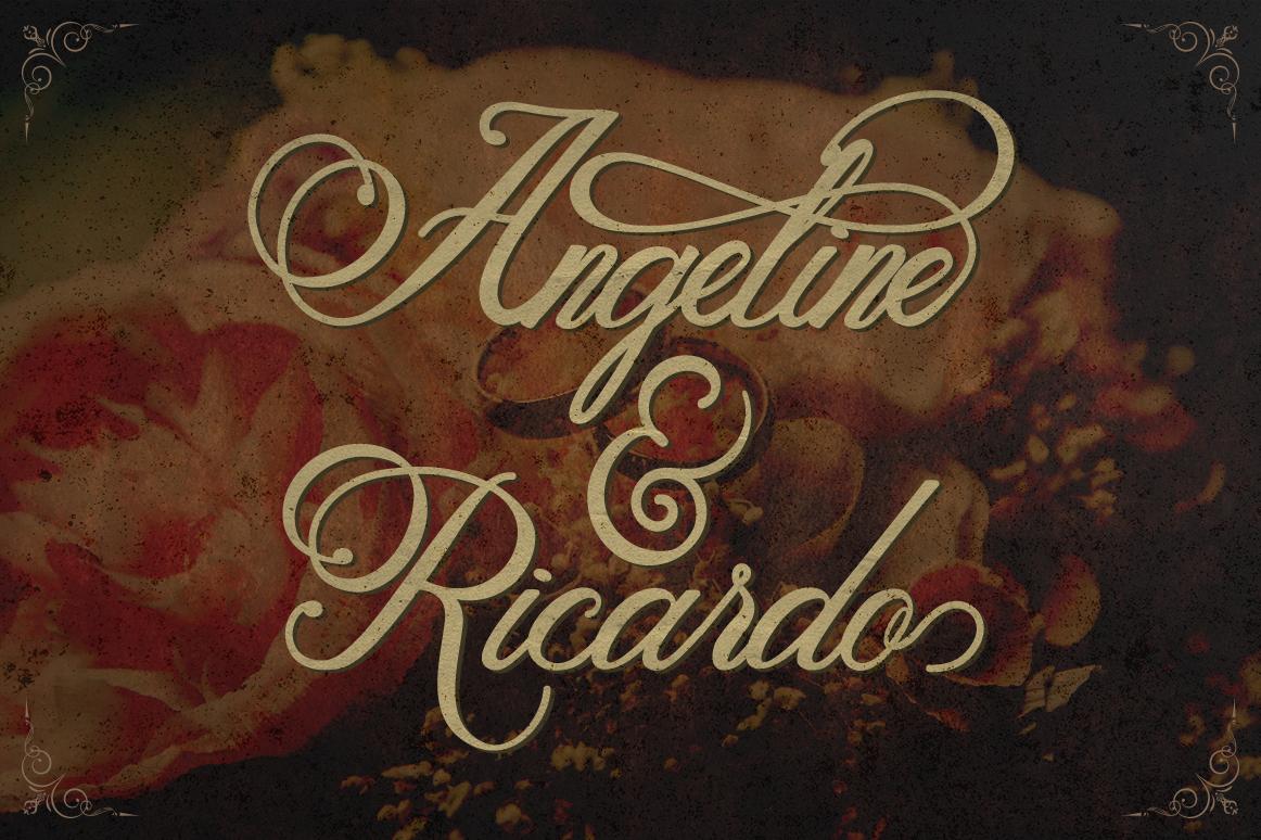 Metalurdo Calligraphy Font example image 7