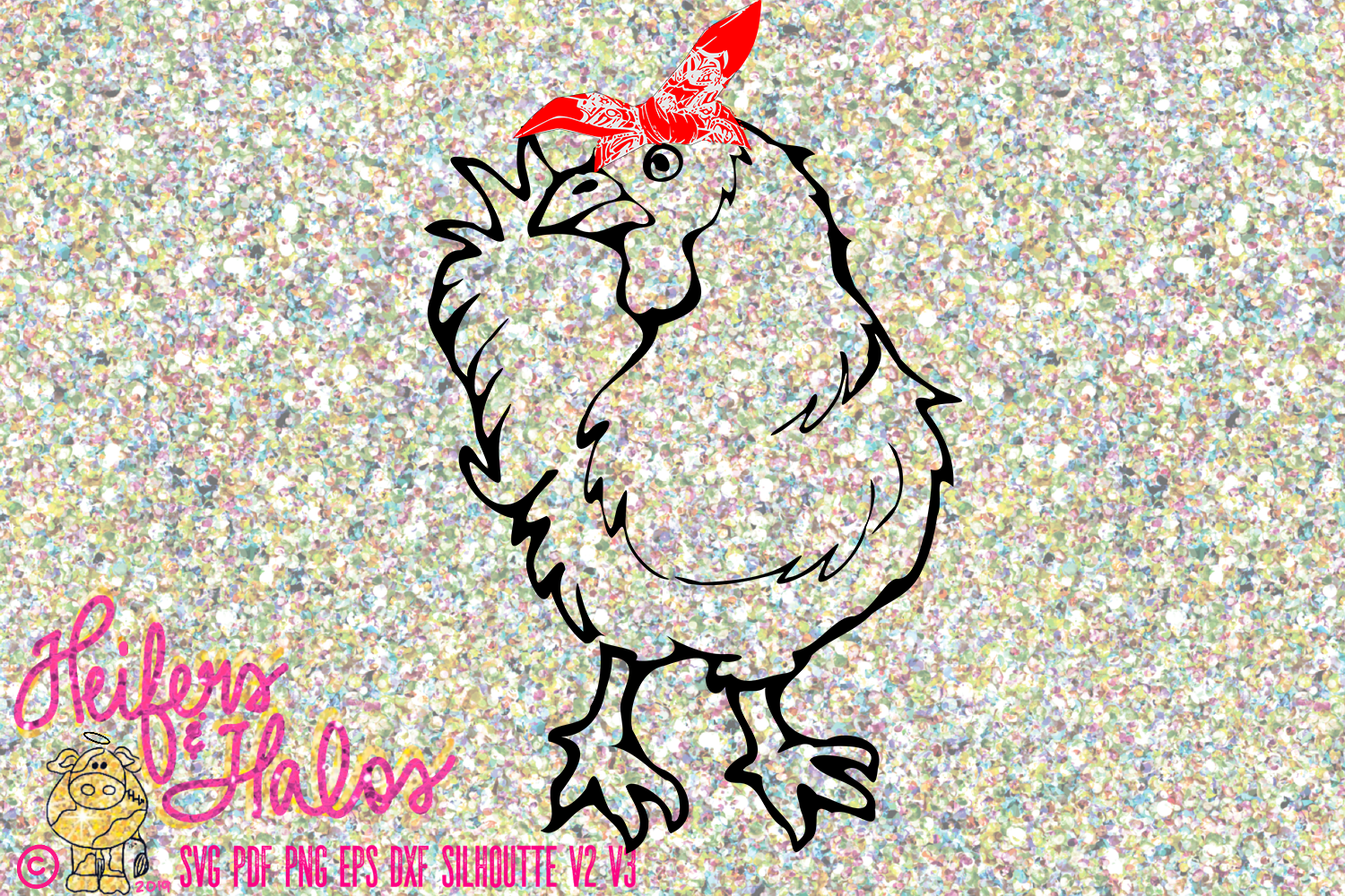 Chicken with Bandana example image 1