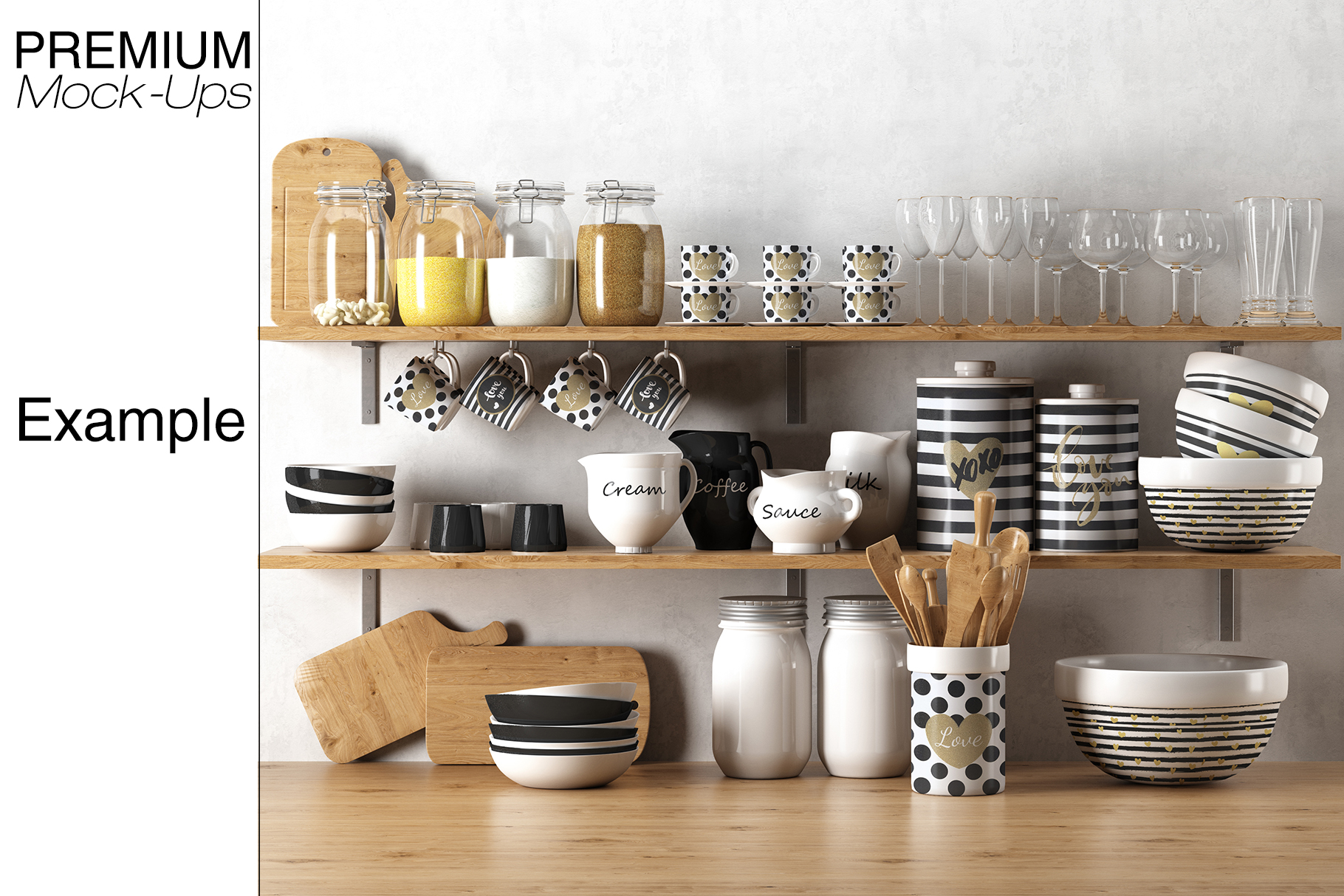 Kitchen Accessories Set example image 18