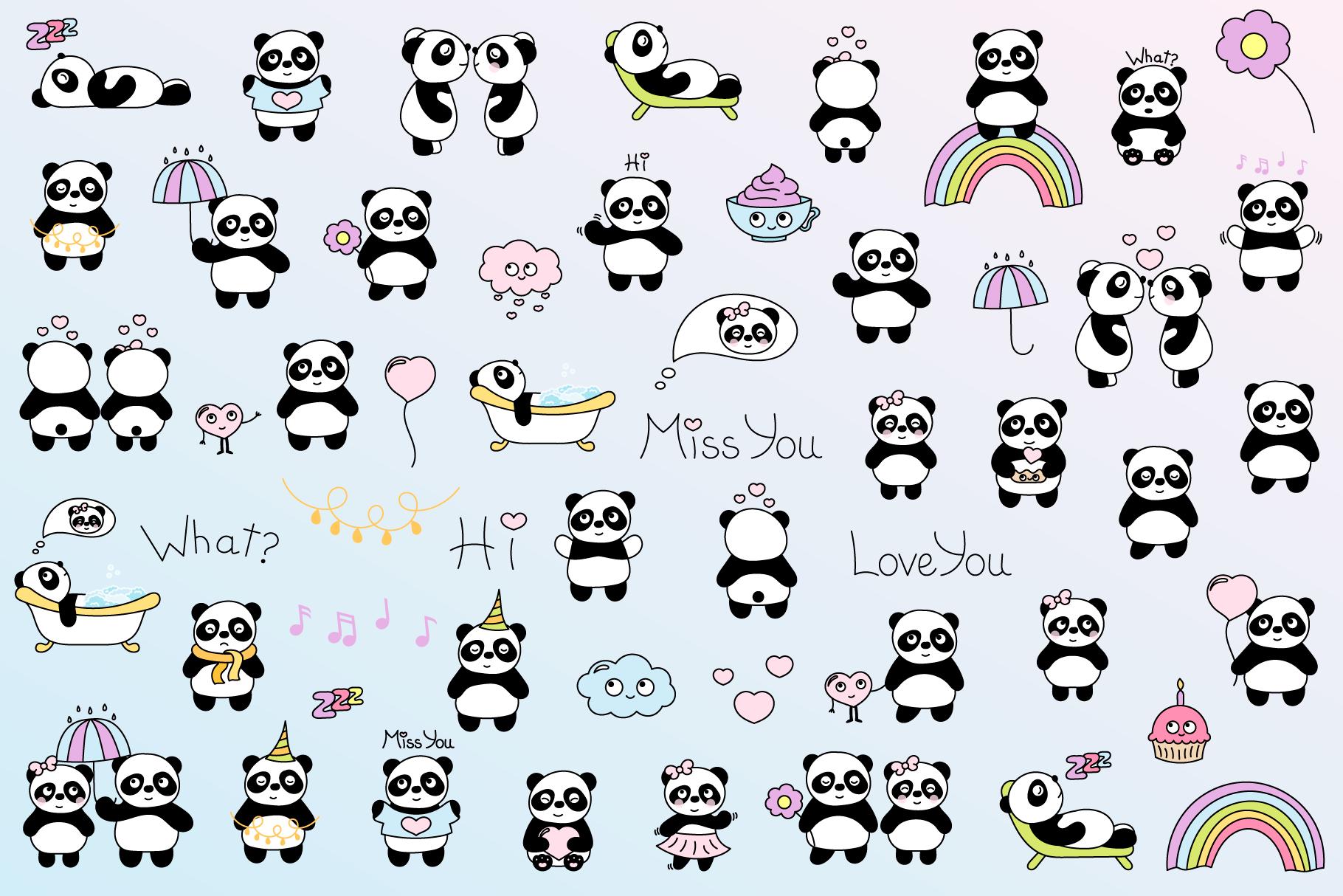 Cute Panda example image 2
