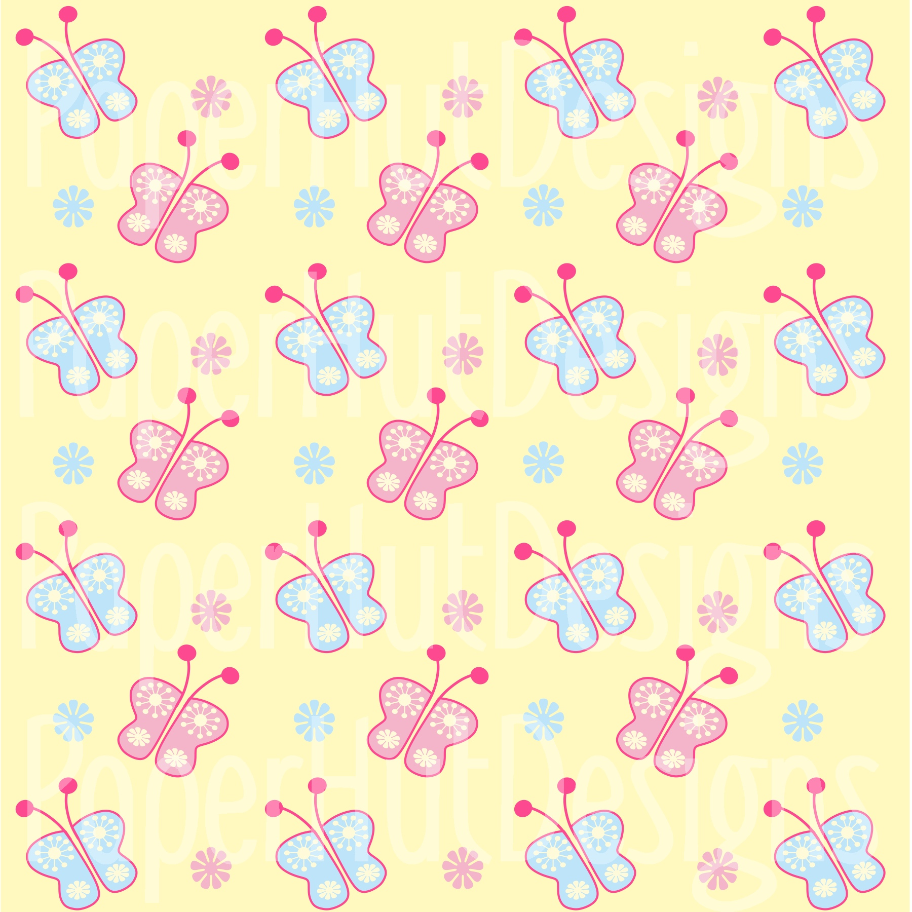 Cat Clipart and Digital Papers Set example image 5