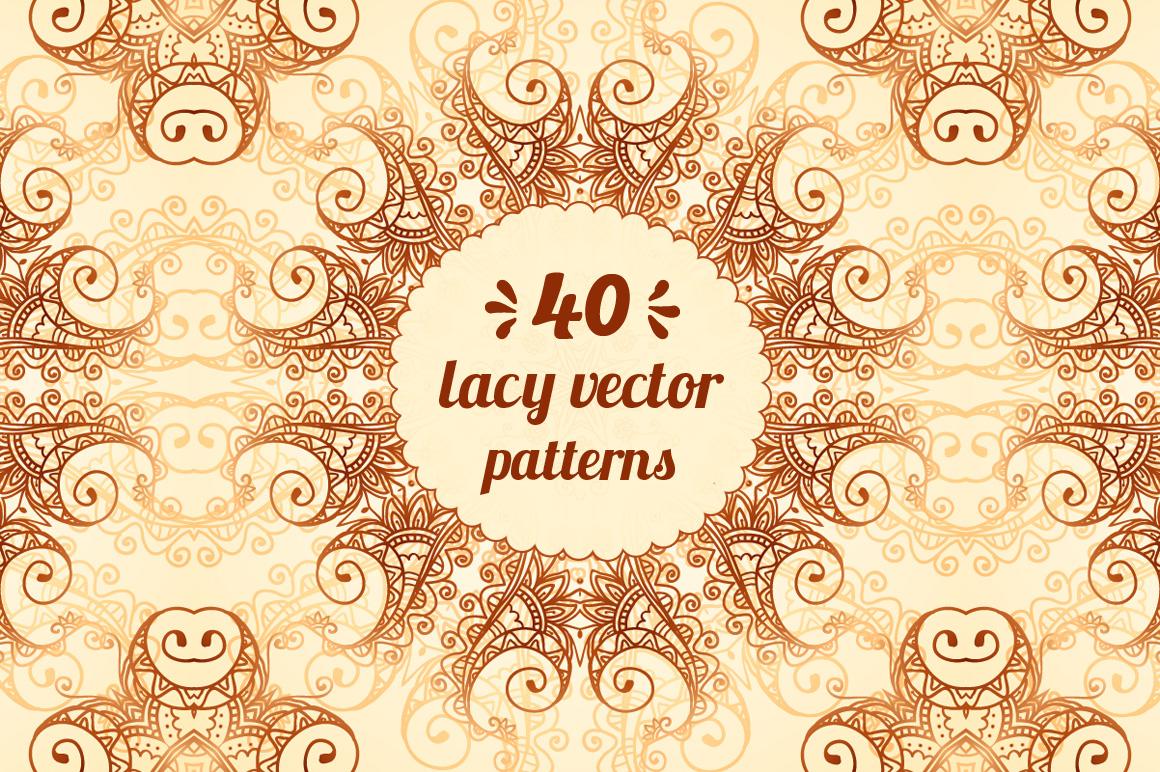 40 wonderful vintage vector patterns example image 1
