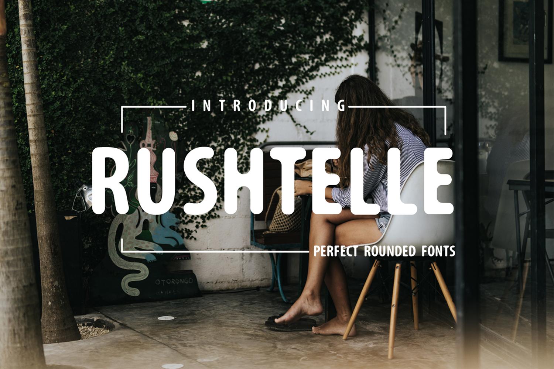 Rushtelle Rounded Fonts example image 1
