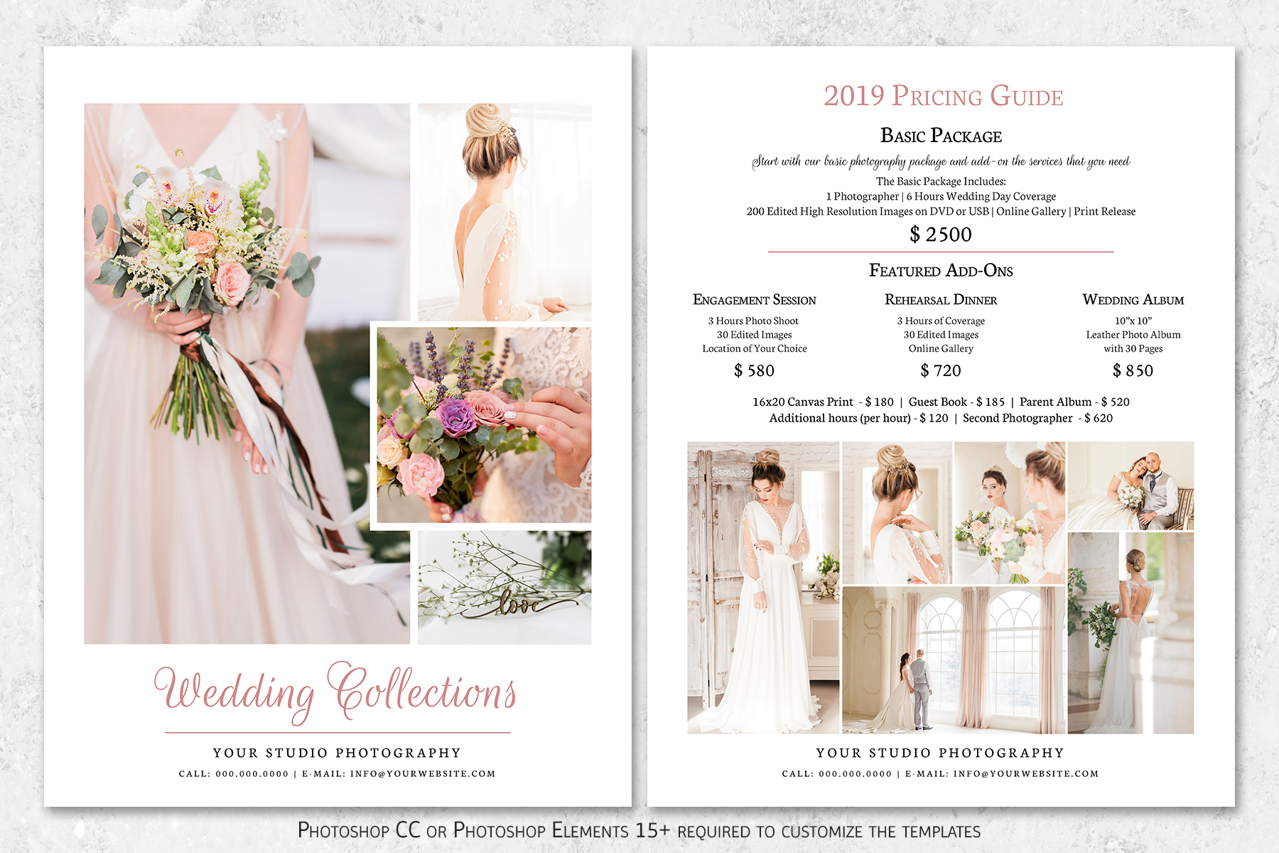 Wedding Photography Pricing Guide Template example image 1
