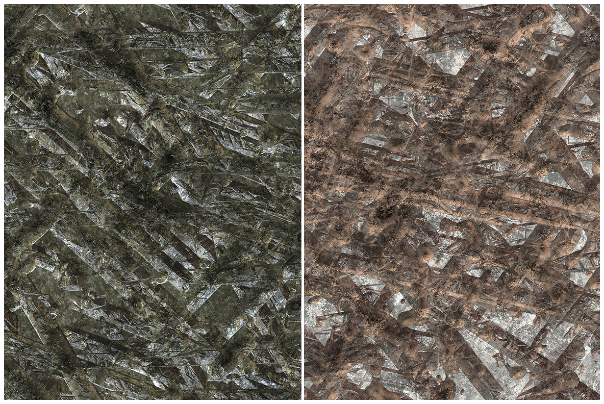 10 Gouged Wall Background Textures example image 4