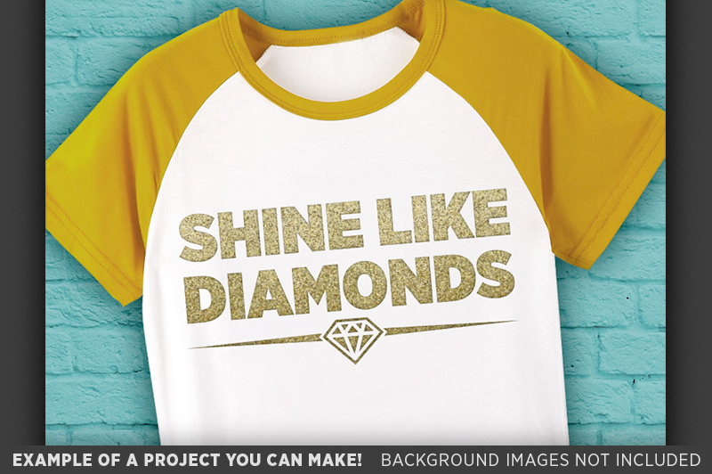 Shine Like Diamonds SVG - Shine Bright Like A Diamond - 1022 example image 3