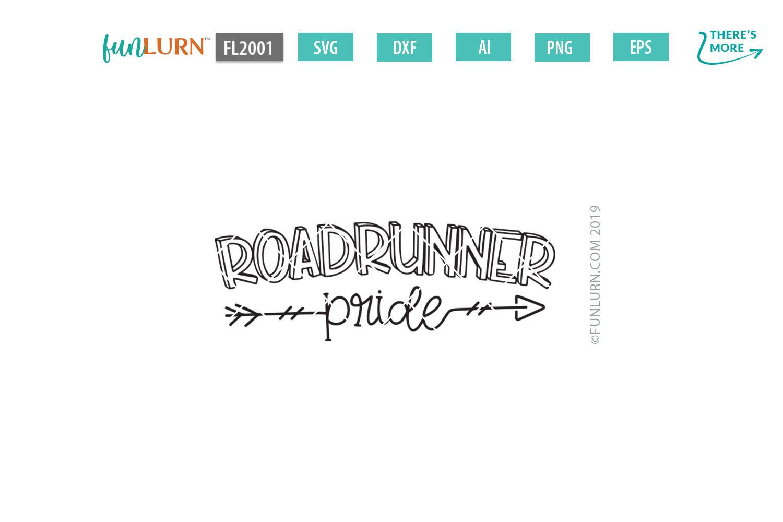 Roadrunner Pride Team SVG Cut File example image 2
