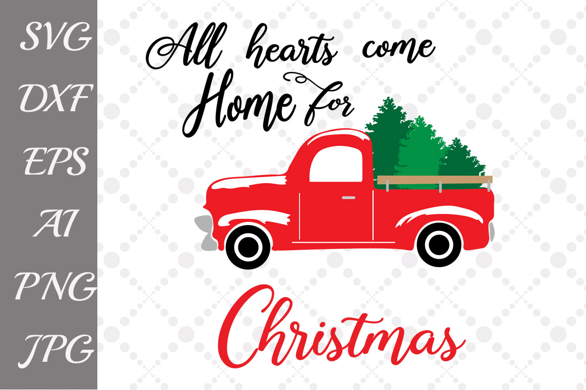 All Hearts Come Home For Christmas SVG example image 1