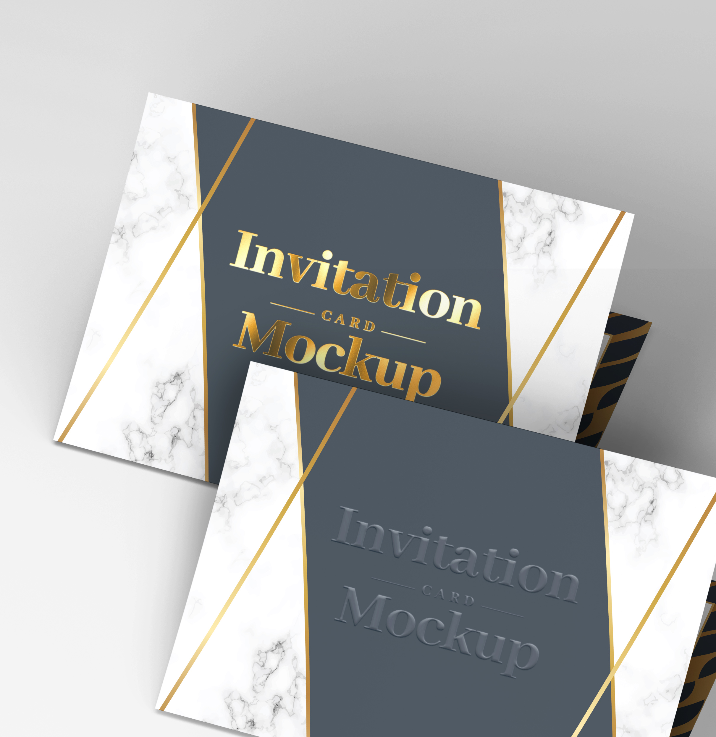 Invitation Card Mockups V1 example image 17