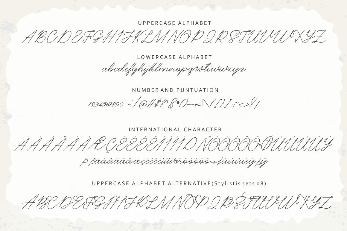 Eisha Script example image 8