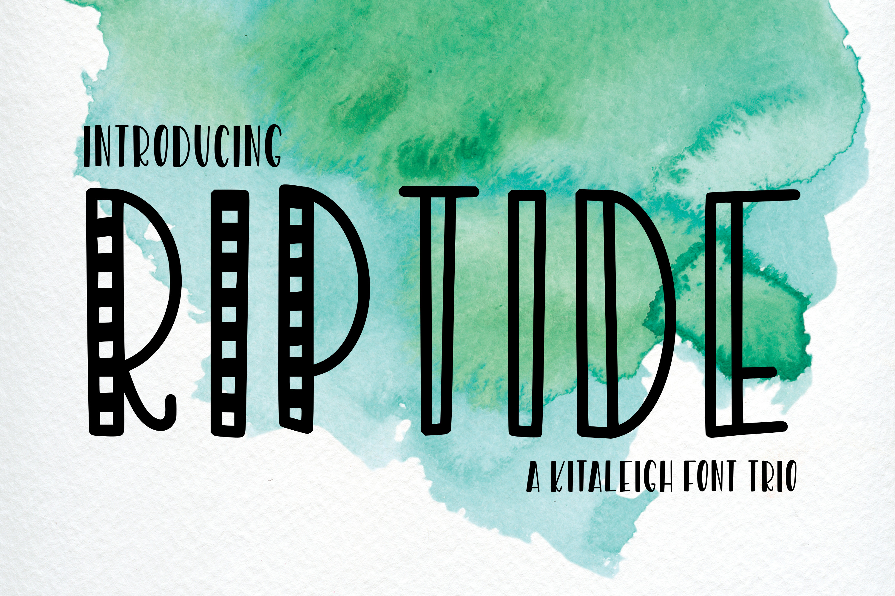 RipTide a Font Trio example image 1