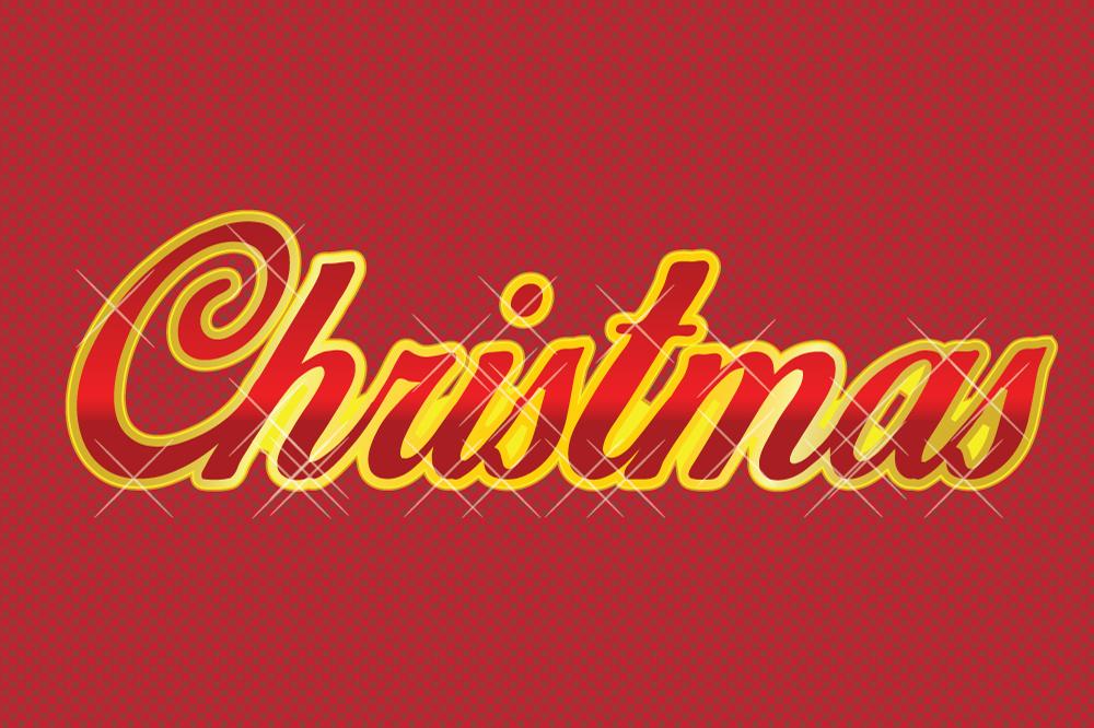 10 Retro Christmas Style for Adobe Illustrator example image 3