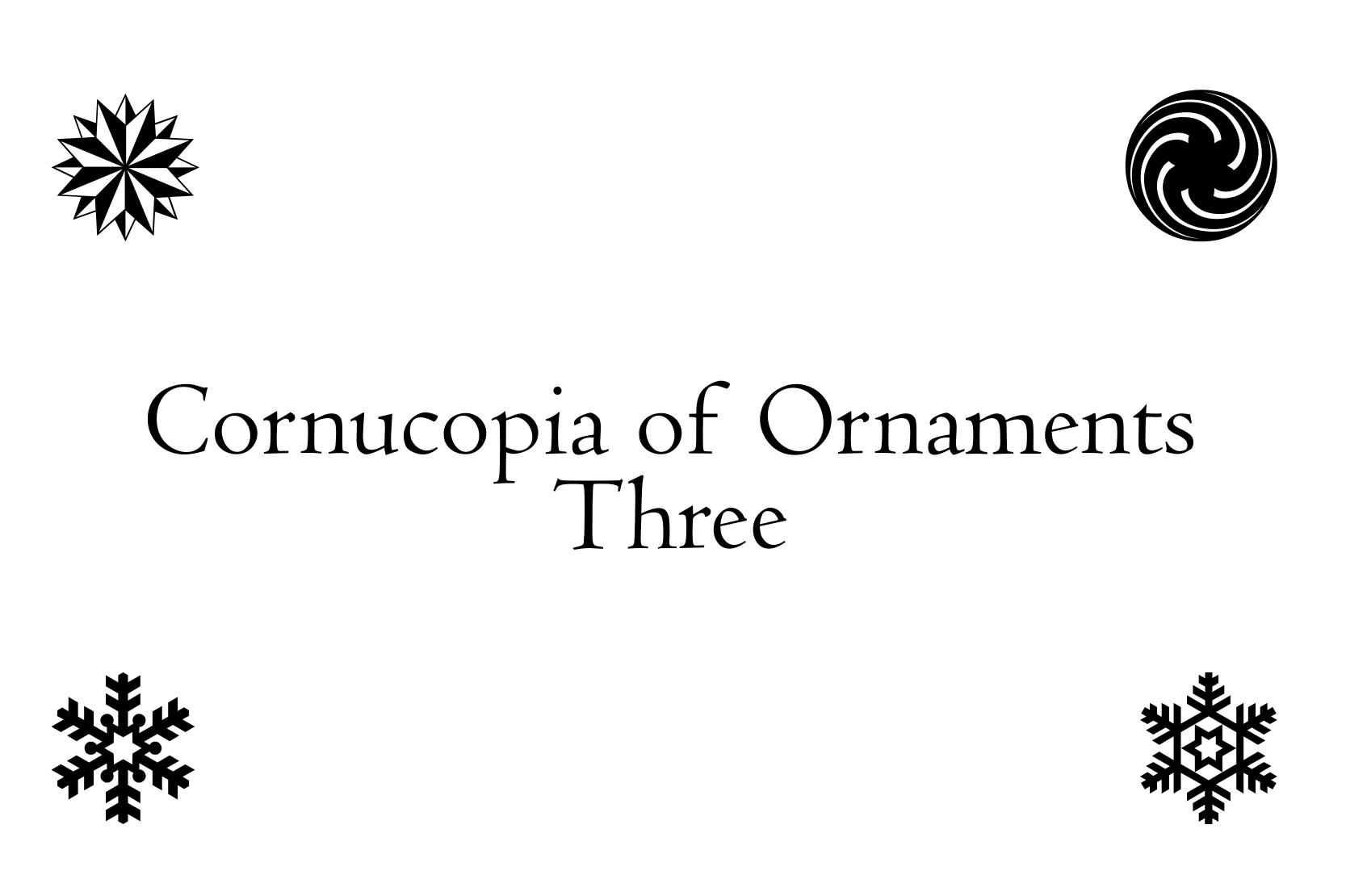 Cornucopia of Ornaments Three example image 2