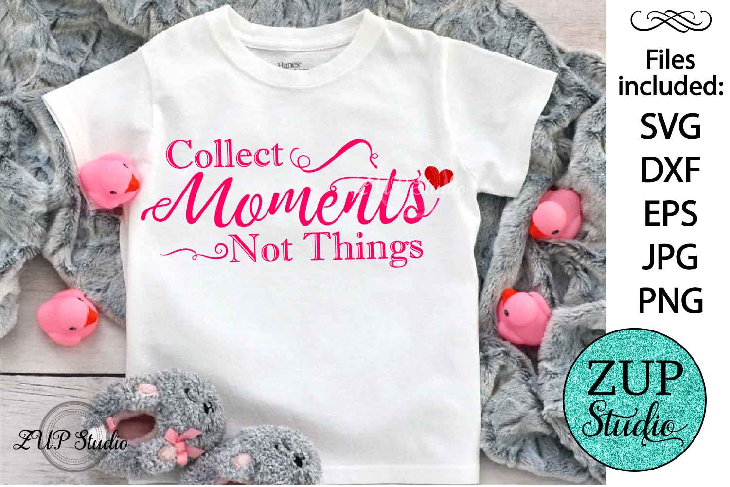 Collect moments Digital Cutting files file 79 example image 1