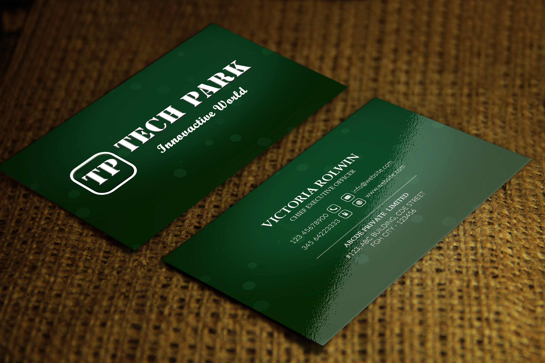 Elegant Business Card example image 4