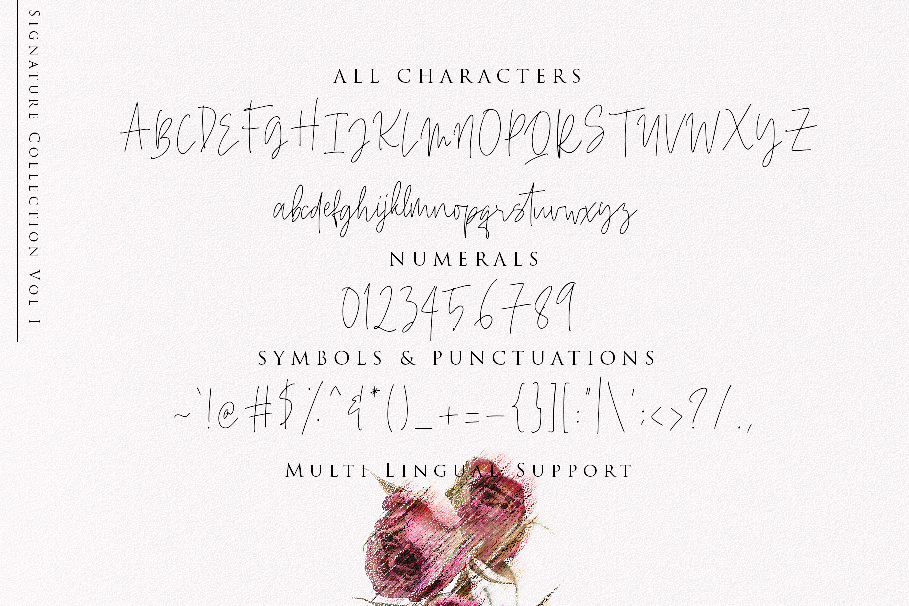 Beauty Signature - Handwritten Font example image 10
