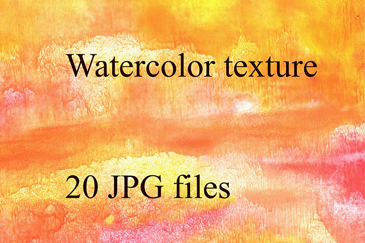Bright watercolor texture. example image 1