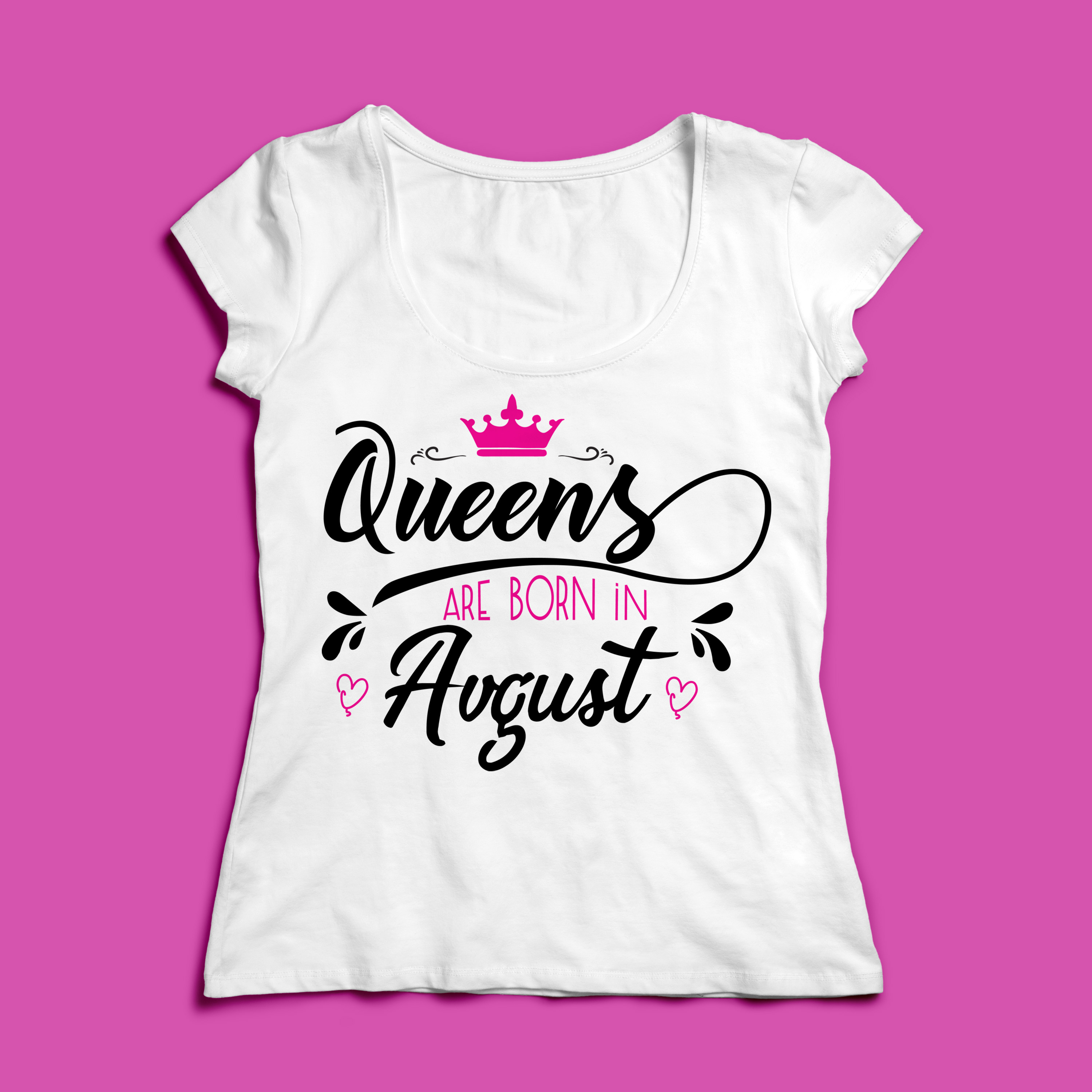 Queens are born in ... Every 12 months Svg,Dxf,Png,Jpg,Eps v example image 3
