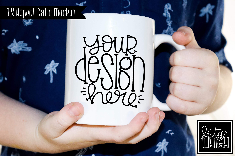 Child Mug Mockup Bundle example image 3