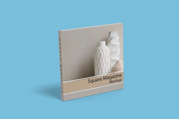 Square Magazine Mockup example image 9
