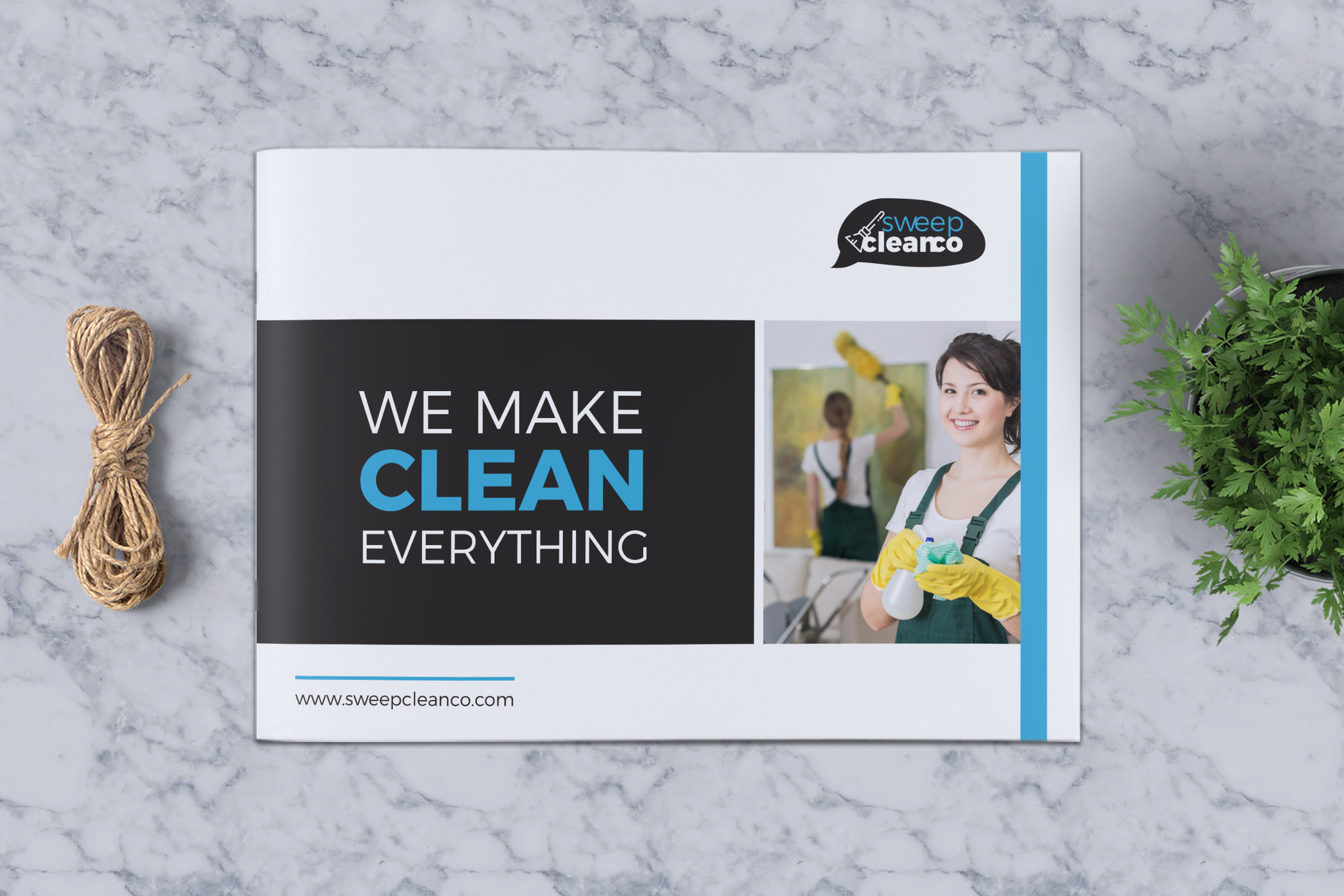 Cleaning Service Company Brochure example image 1