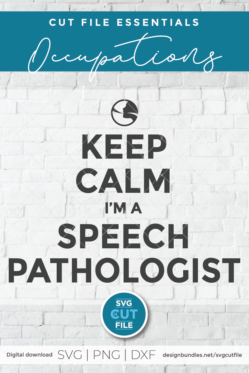 Speech pathologist svg, Speech language pathologist, SLP svg example image 2