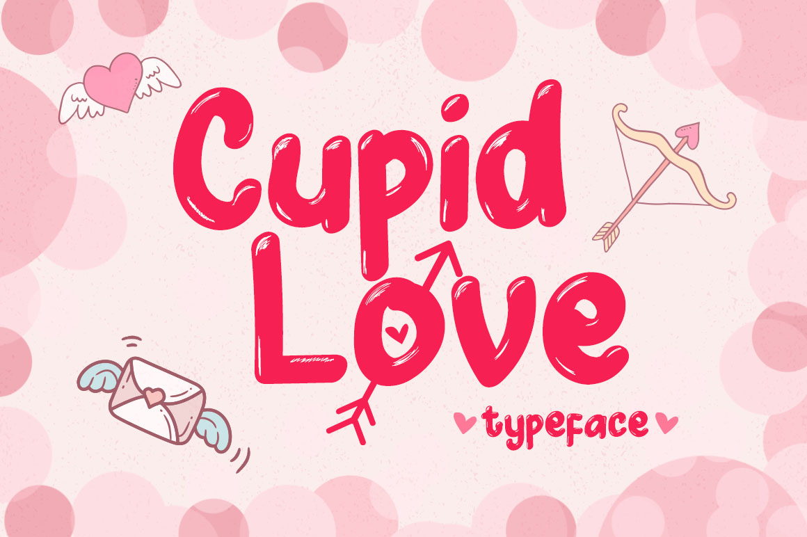 Cupid Love - A Lovely Typeface example image 1