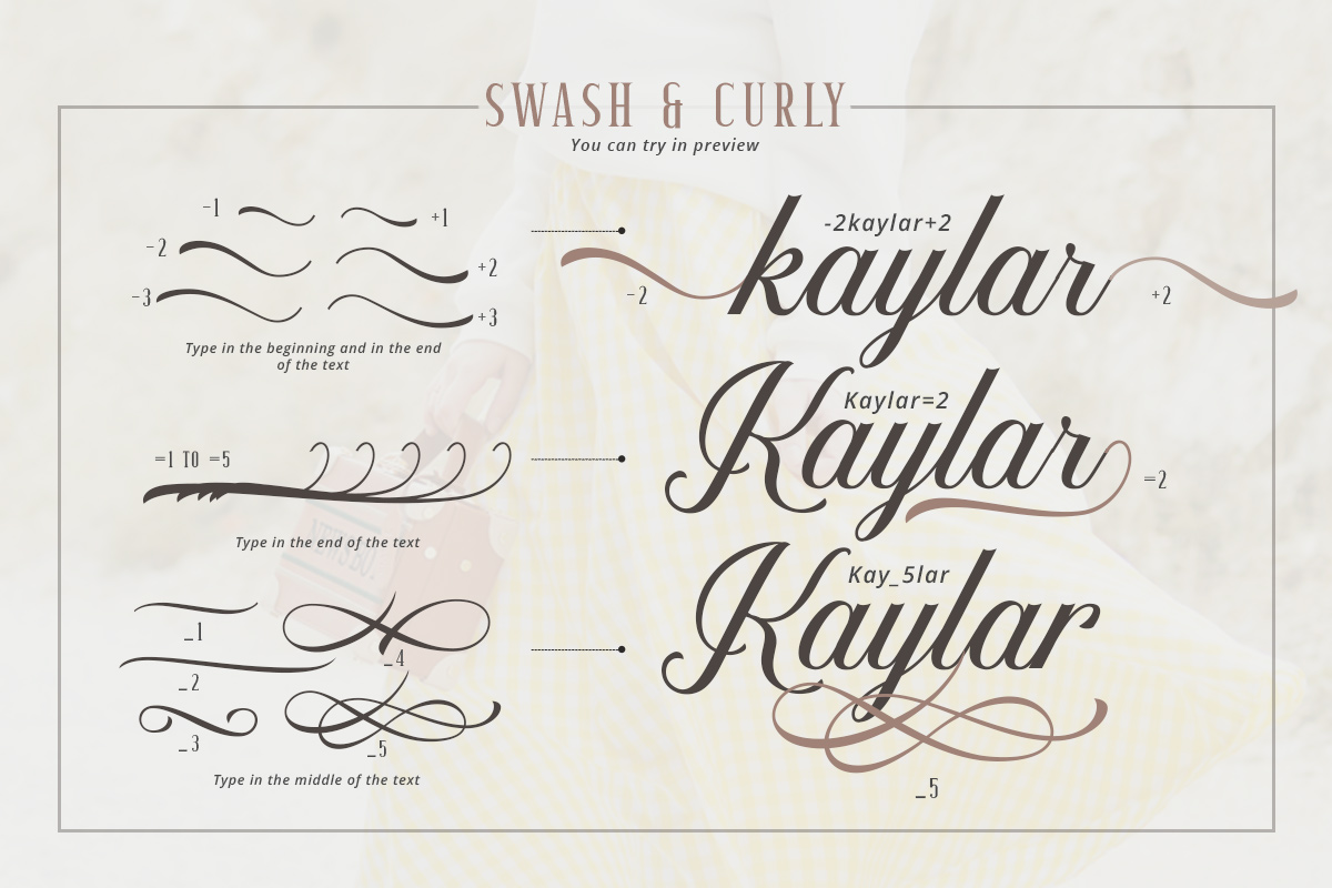 Kaylar - Elegant Script & Serif example image 3