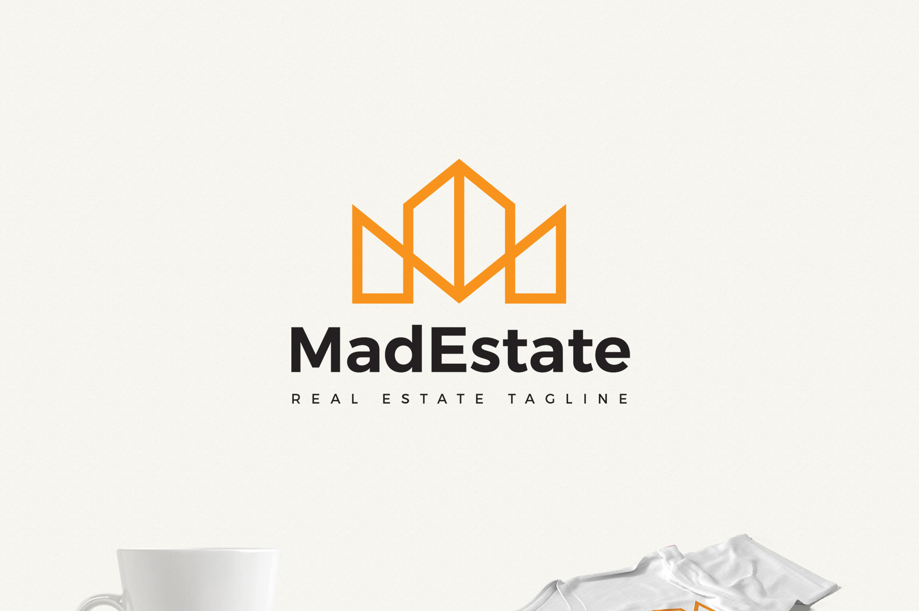 Mad Estate a Real Estate Logo example image 1