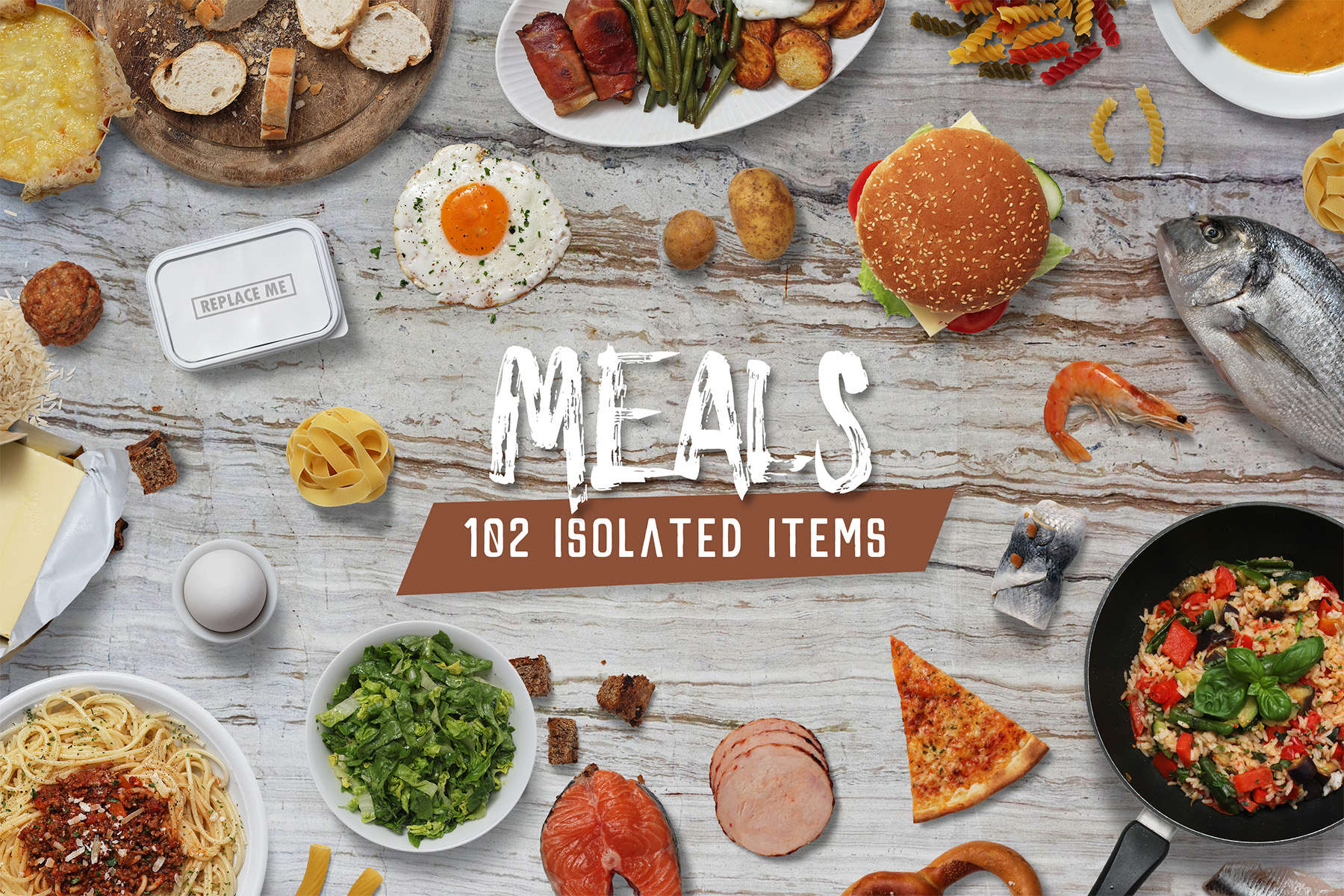 Meals - Isolated Food Items example image 1