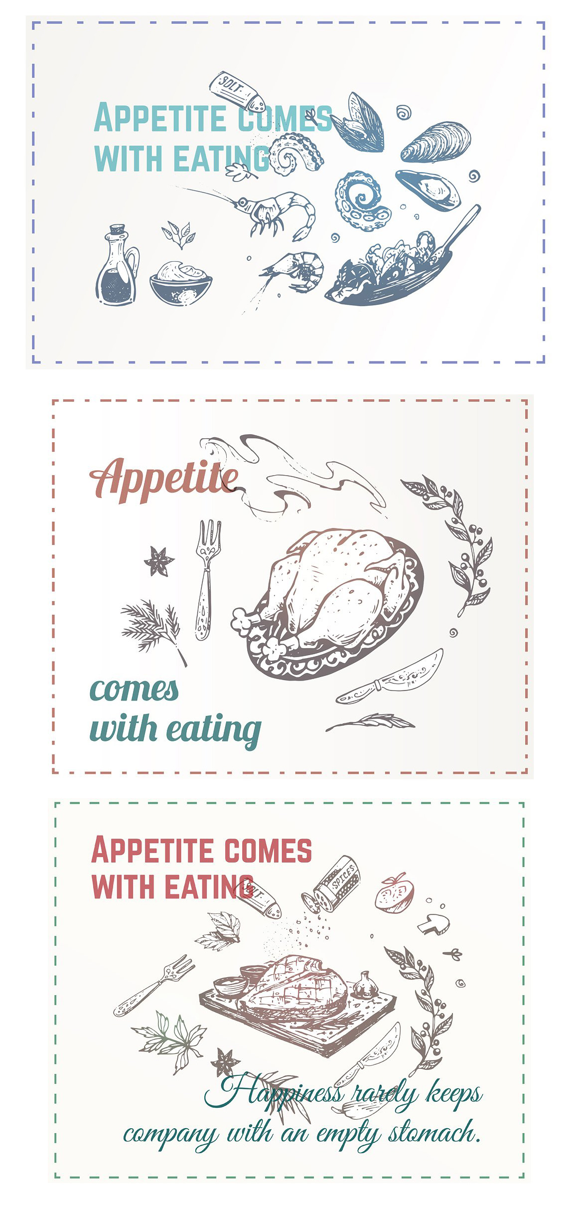 Hand drawn cooking and food icons example image 24