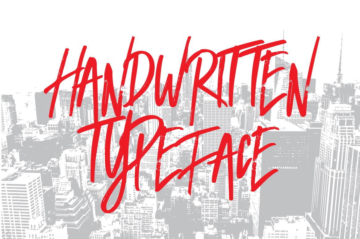 Broken Dark Typeface example image 4
