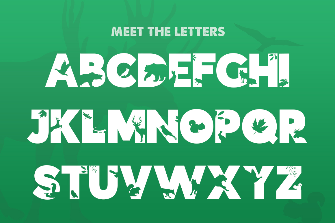 The Forest Font example image 2