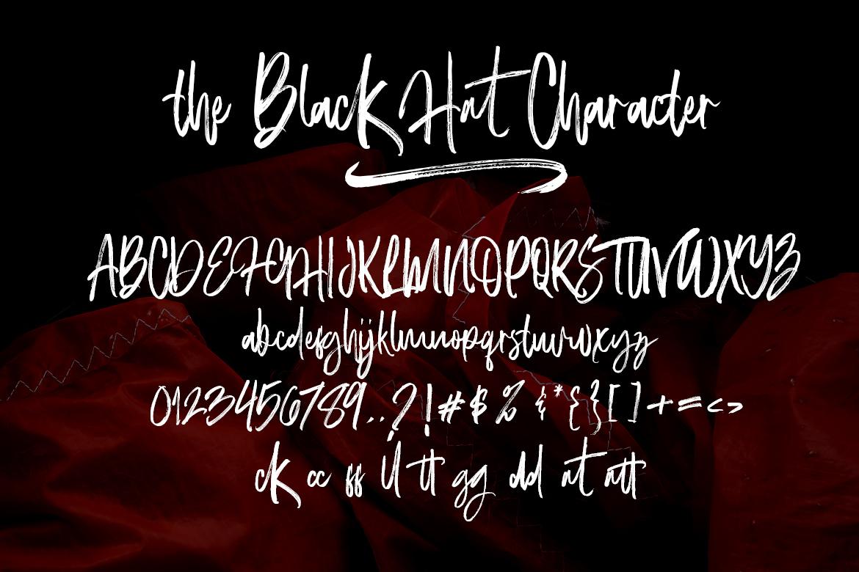 The Black Hat Script example image 6