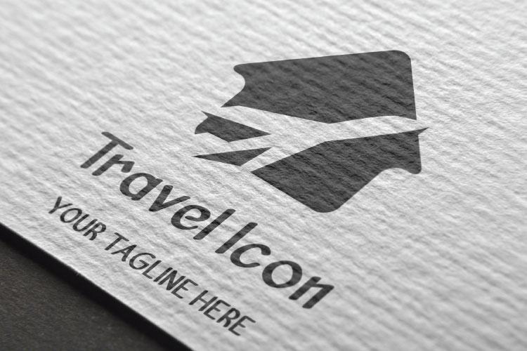 Flat Travel Logo Design example image 2