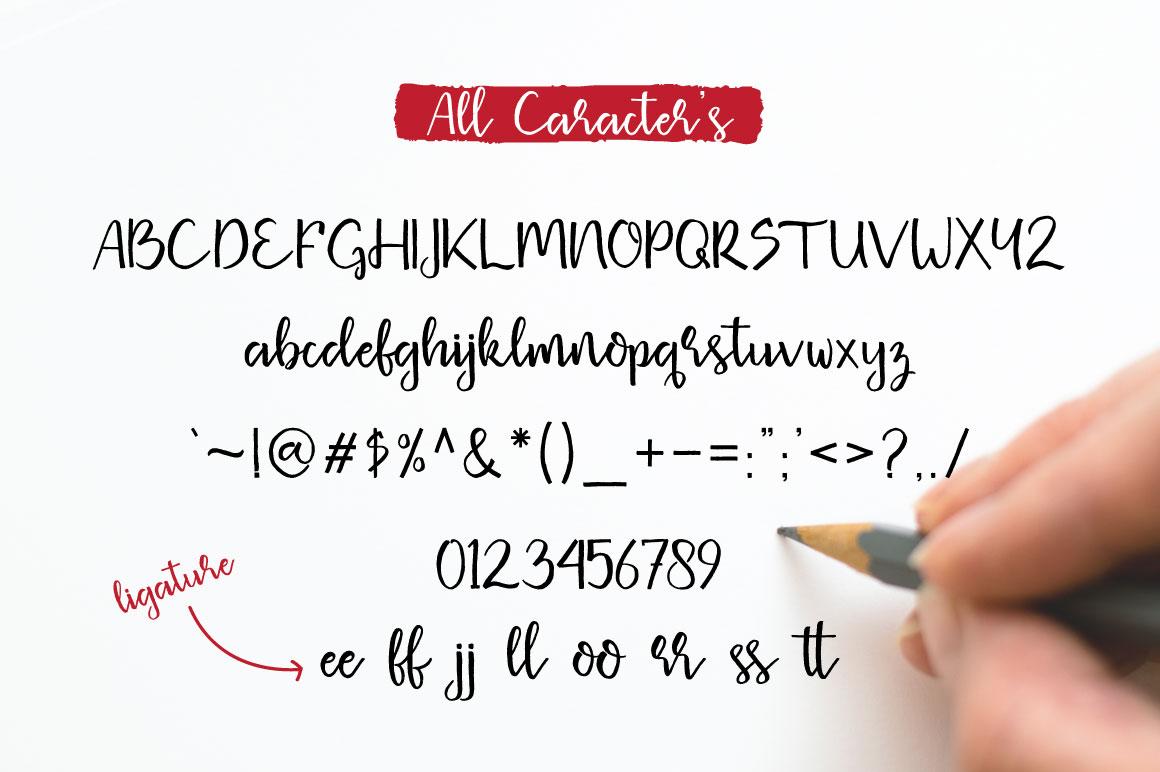 Missaki Typeface example image 8