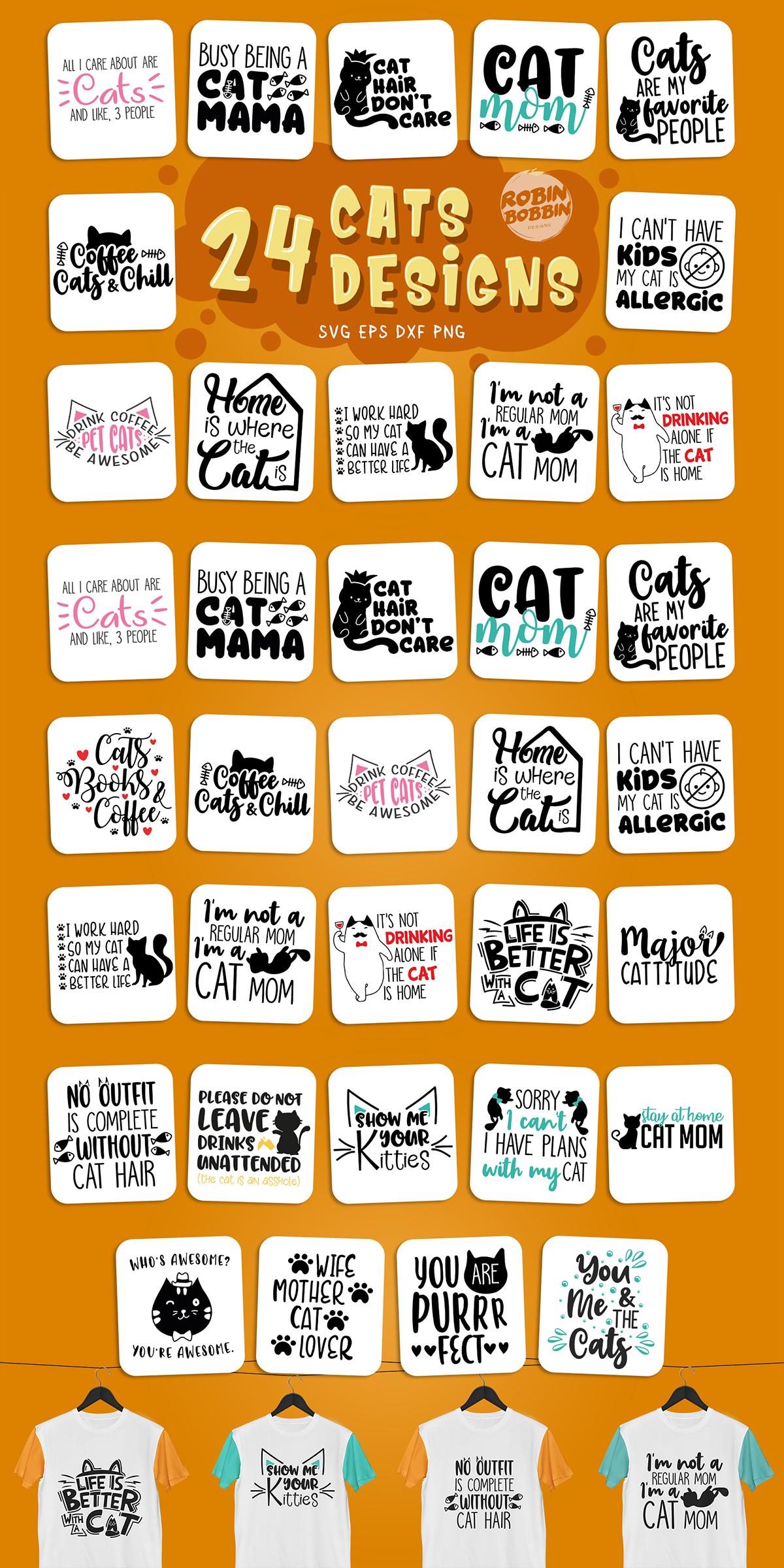 Cats SVG Bundle - Cat Quotes Bundle example image 4